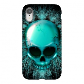 iPhone Xr  Ghost Skull Hologram by
