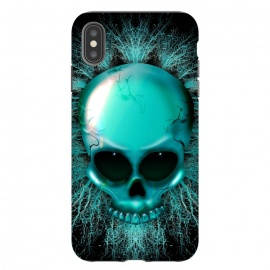 iPhone Xs Max  Ghost Skull Hologram by BluedarkArt