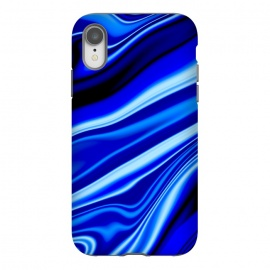 iPhone Xr  Electric Blue by  (wavy,vibrant)