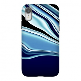 iPhone Xr  Black and Blue by Ashley Camille (wavy)