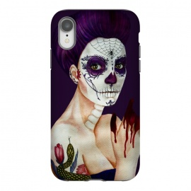 iPhone Xr  Sugar skull girl by Elena Terzi