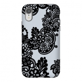iPhone Xr  Black lace by