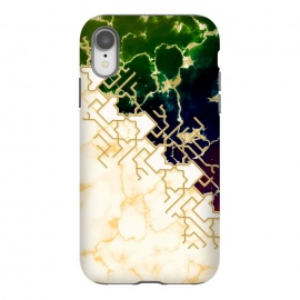 iPhone Xr  Marble and ocean by Kashmira Baheti