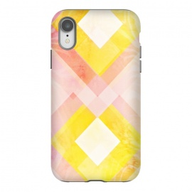 iPhone Xr  Pink yellow pattern by Jms