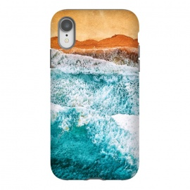 iPhone Xr  Tropical VI - Beach Waves II by Art Design Works