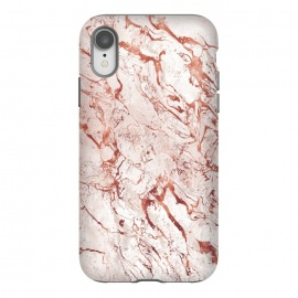 iPhone Xr  ROSE GOLD MARBLE by Art Design Works