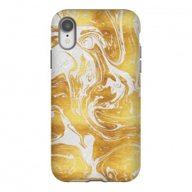 iPhone Xr  White Dragon Marble by Art Design Works