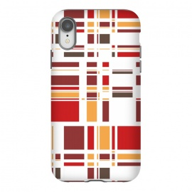 Fourth Dimension Red Plaid by Majoih
