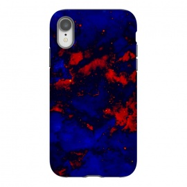 iPhone Xr  Blue red abstract by Jms