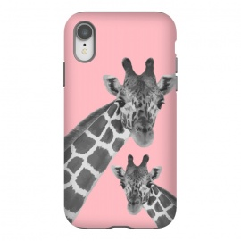 iPhone Xr  Giraffe Love 2 by MUKTA LATA BARUA