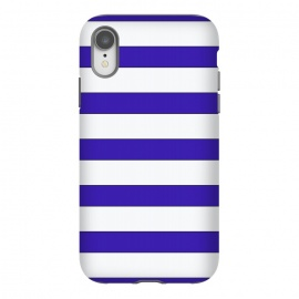 iPhone Xr  white purple stripes by