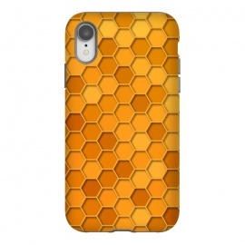 iPhone Xr  Hexagonal Honeycomb Pattern by Quirk It Up