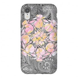 iPhone Xr  Paisley floral by Kashmira Baheti