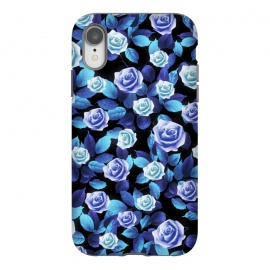 iPhone Xr  Purple roses by Jms