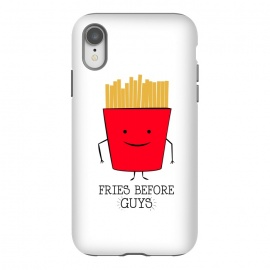 iPhone Xr  fries before guys by