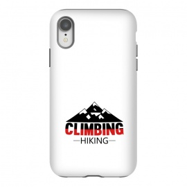 iPhone Xr  climbing hiking by