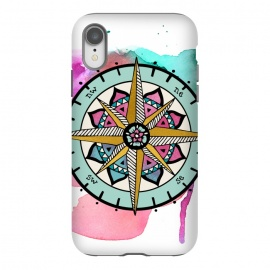 iPhone Xr  compass by Pom Graphic Design (compass)