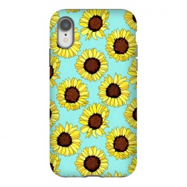 iPhone Xr  Aqua - Sunflowers Are The New Roses!  by