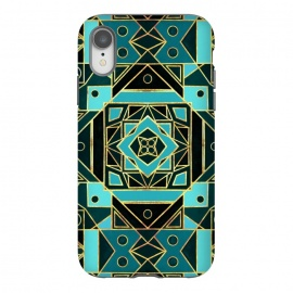 Gold & Teal Art Deco  by Tigatiga