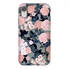 iPhone Xr  90s vibe flowers by Susanna Nousiainen