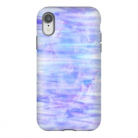 iPhone Xr  Purple galaxy marble by Jms