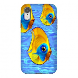 Fish 3D Cute Tropical Cutie on Clear Blue Ocean Water  by BluedarkArt