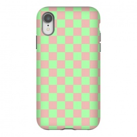 iPhone Xr  Checkered Pattern I by Art Design Works