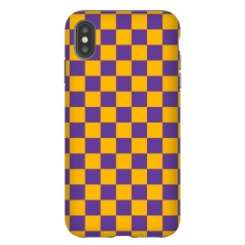 iPhone Xs Max  Checkered Pattern II by