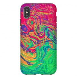 Abstract Multicolored Waves by Art Design Works