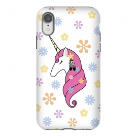 iPhone Xr  Hippie Unicorn by Laura Nagel