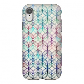 iPhone Xr  Mermaid's Braids - a colored pencil pattern by Micklyn Le Feuvre