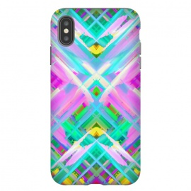 iPhone Xs Max  Colorful digital art splashing G473 by