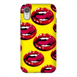 iPhone Xr  red lips design by MALLIKA