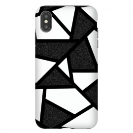 White and black geometric by Jms