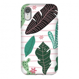 iPhone Xr  Tropical Summer Pattern by ArtPrInk