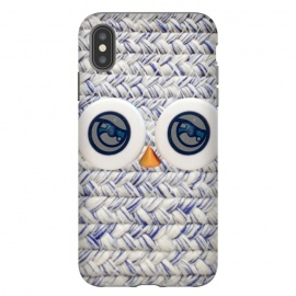 iPhone Xs Max  CUTE OWL by Michael Cheung