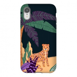 iPhone Xr  Cheetah on Tropical Beach by Utart
