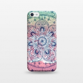 iPhone 5C  Summer beach bohemian mandala  by InovArts