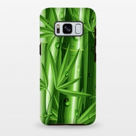 Galaxy S8+  Bamboo Jungle Zen by BluedarkArt
