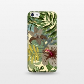 iPhone 5C  Jungle Foliage by Utart