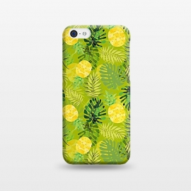 iPhone 5C  Eve's colorful pineapple garden Jungle by Utart