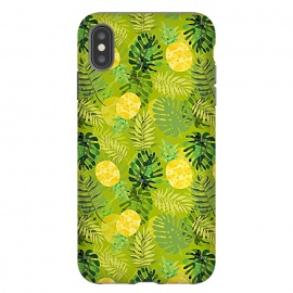 iPhone Xs Max  Eve's colorful pineapple garden Jungle by Utart