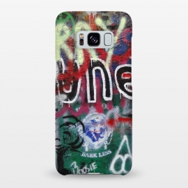 Galaxy S8+  Graffiti Grunge Wall Art by Andrea Haase