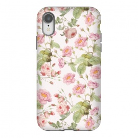 iPhone Xr  Blush Roses  by Utart