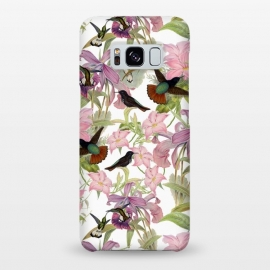 Galaxy S8+  Hummingbirds and Tropical Flowers by Utart