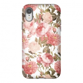 iPhone Xr  Peach Victorian Roses by Utart