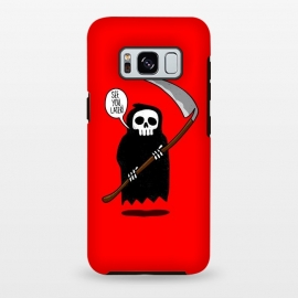 Galaxy S8+  See You Later! by Mitxel Gonzalez (funny,skull,death,see u later,see ya later,see you later,skulls,cool,lol,lmao,top,ilustracion,illustration)