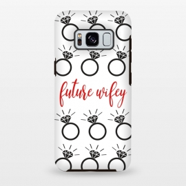 Future Wifey by Martina (wife,wifey,bride,wedding,enagagement,ring,diamond,bridesmaid,illustration,typohrapgy,modern,graphic)