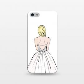 iPhone 5/5E/5s  Elegant bride illustration by