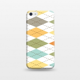 iPhone 5C  Modern diamond pattern by Martina